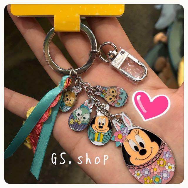 🇭🇰 特價貨品 香港迪士尼 ✨ 達菲 雪莉梅 米妮 畫家貓 復活節 吊飾 鑰匙圈 gs.shop