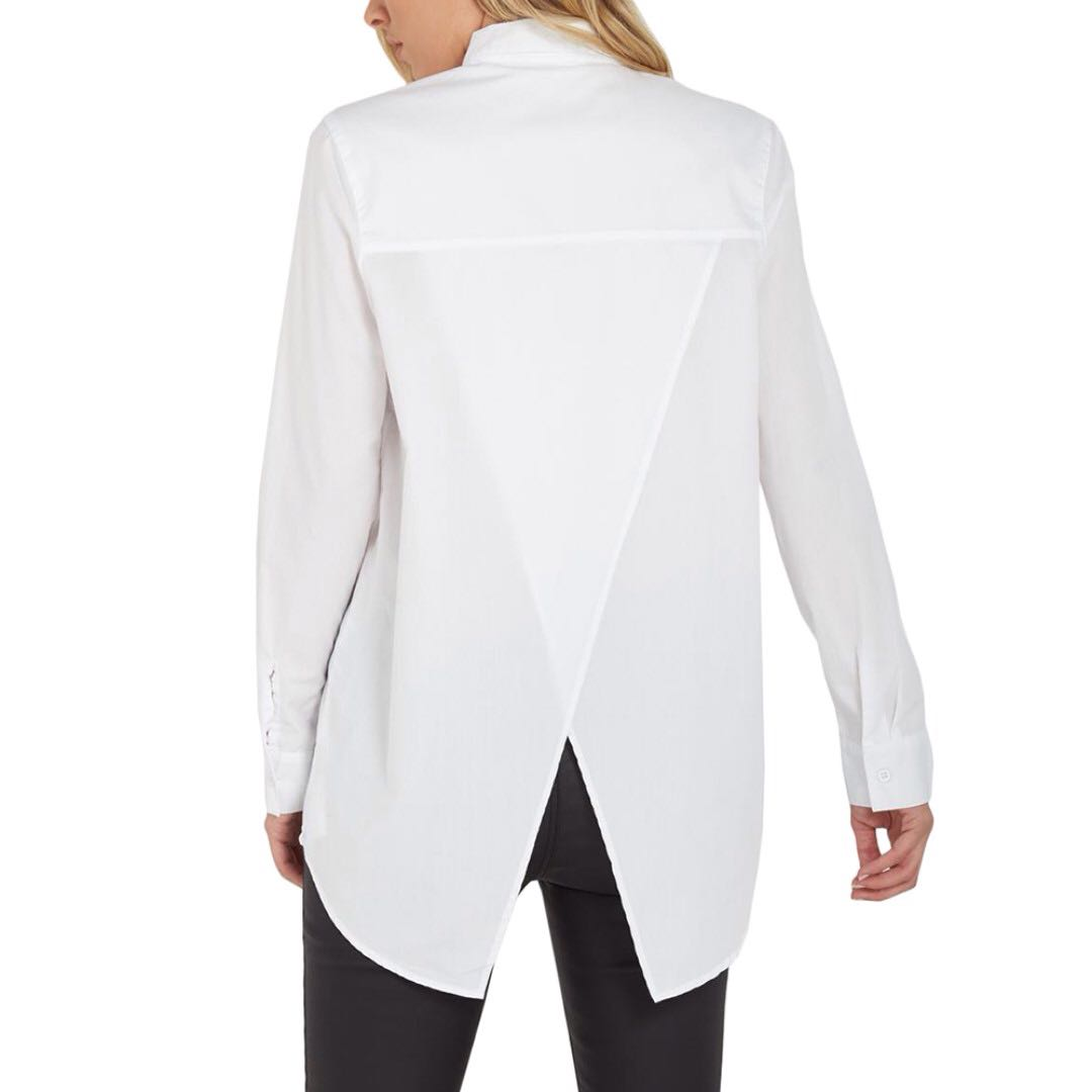 🆕 COTTONON Slit Back Shirt