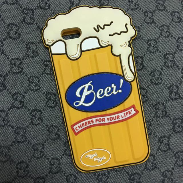 韓國啤酒杯手機殼軟殼 iphone6/6s plus
