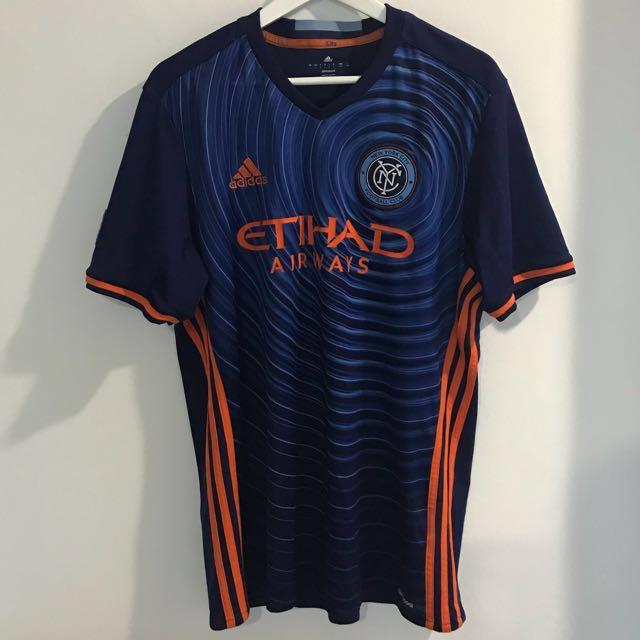 best service 78e34 33d9c Adidas Men's Football Tshirt New York City FC