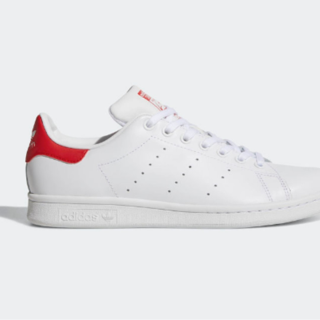 Adidas STAN SMITH SHOES (RED)