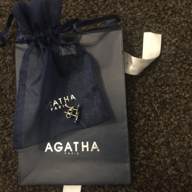 Agatha Paris Scottie Studs