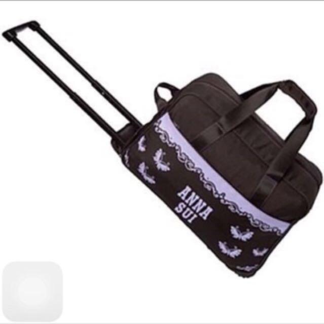 全新Anna sui魔法旅行箱(經典的行李提袋)