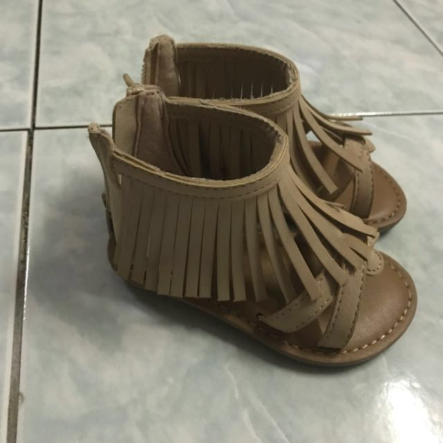 Authentic Baby Gap Fringe Sandal