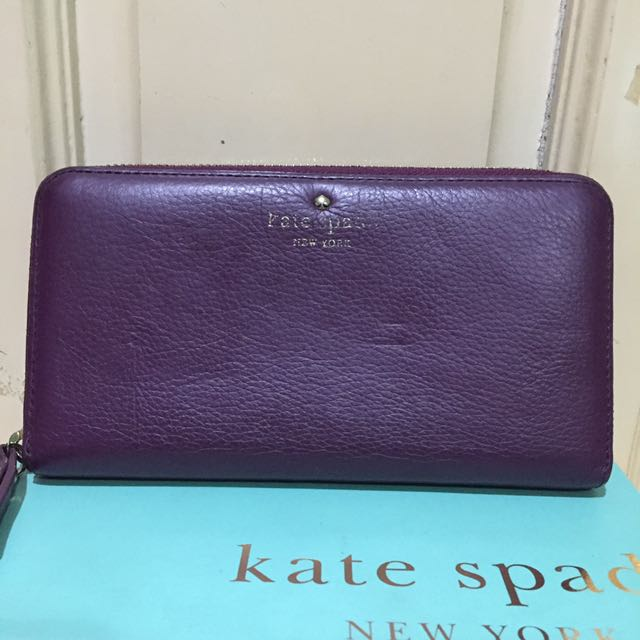 Authentic Kate Spade long zippy wallet