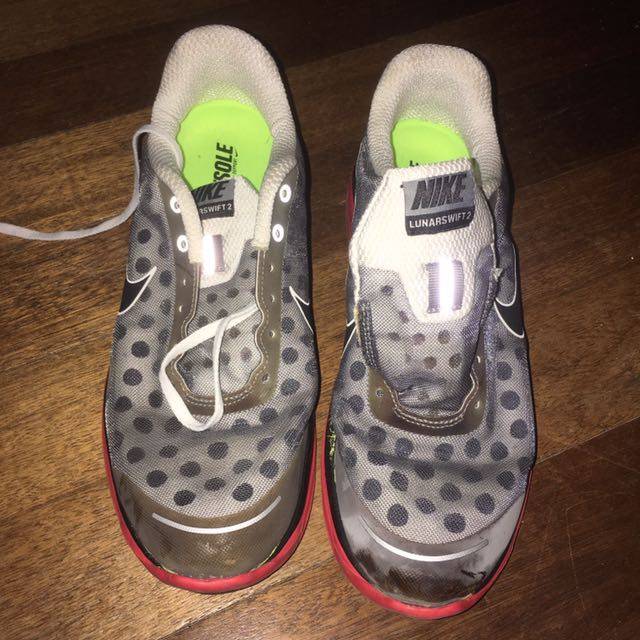 Authentic Nike Lunarswift 2 Rubber Shoes US 9