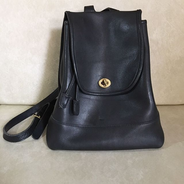 Authentic Vintage Coach Backpack