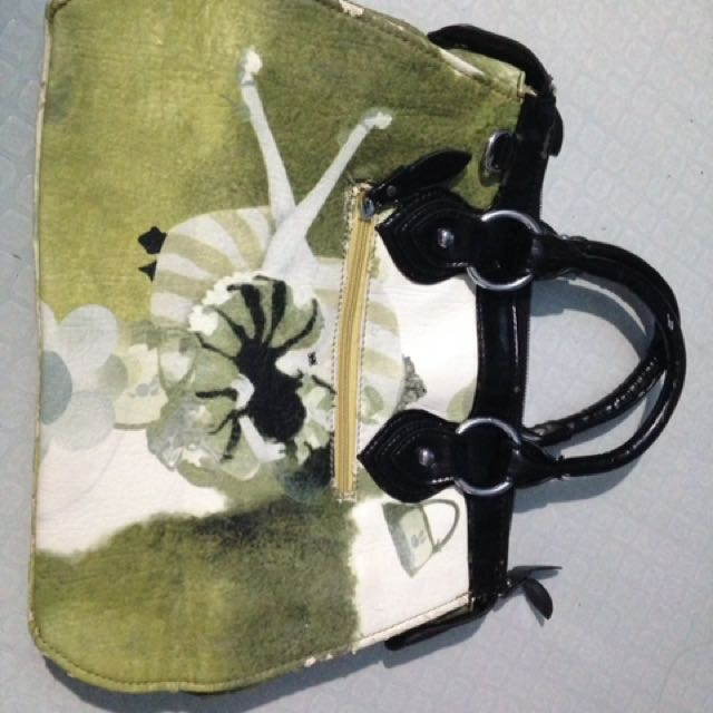 avocado green bag