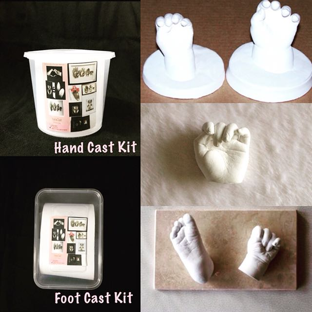 Baby Hand and Foot Life Casting Kit/DIY/LifeCasting on Carousell