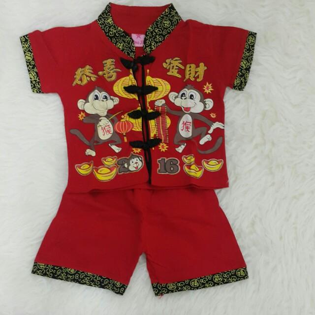 Baju CNY universal bisa untuk anak 1 s/d 2 thn