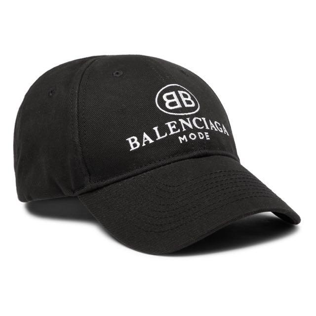cf4aa224086a4 Balenciaga Baseball Cap (101% Authentic)