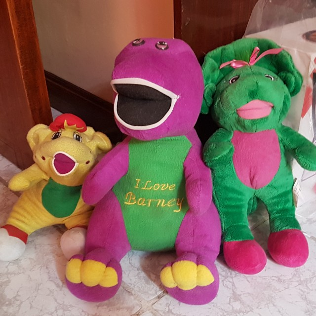 Barney Stuffed Toy (Take All)