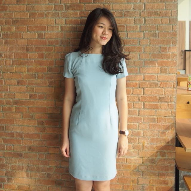 Basic Blue Dress