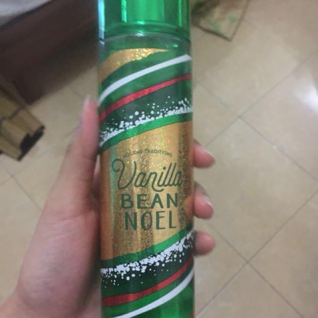 Bath & body works vanilla bean noel body mist