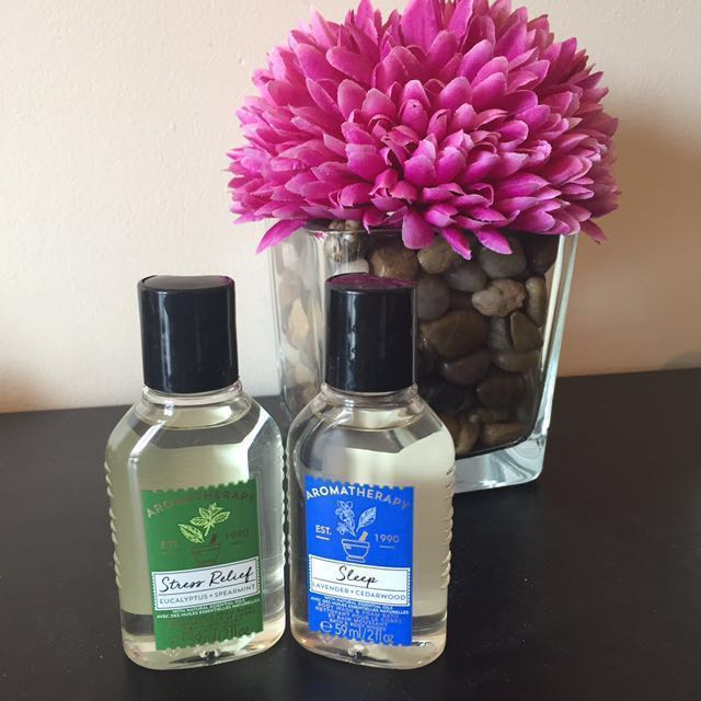 Bath and Body Works Aromatherapy Bath Bubbles + Shower Gel