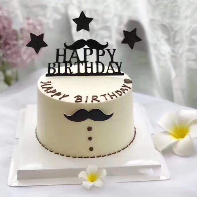 Birthday Cake For Men Food Drinks Baked Goods On Carousell