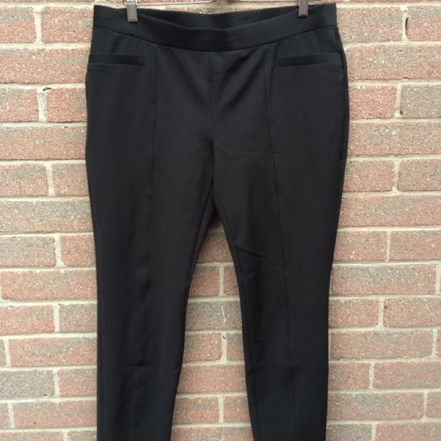Black Legging Ankle Fit Pants