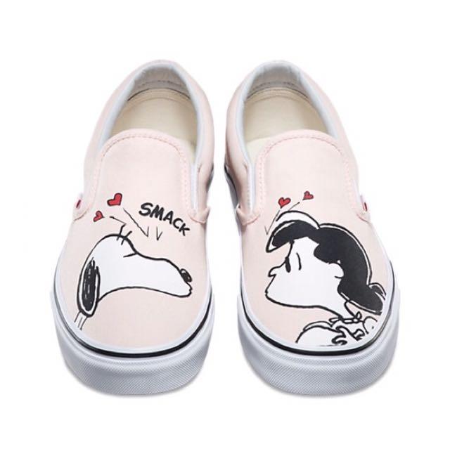 BNIB Peanuts X Vans Slip-Ons