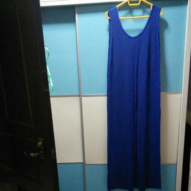 BNIP Royal Blue Long Dress