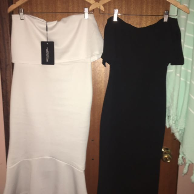 BNWT Size 12 Pretty Little Thing Bodycon dresses bundle