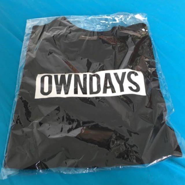 BRAND NEW Unisex OWNDAYS Black Shirt