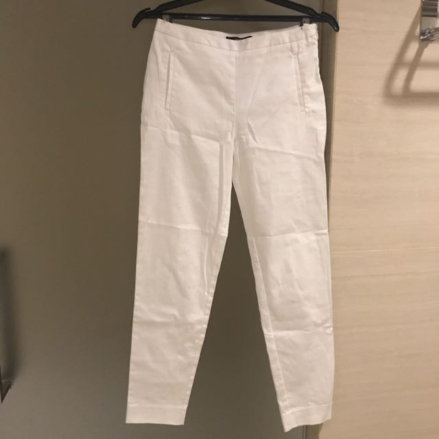 BRAND NEW! (with tags) FOREVER21 white pants