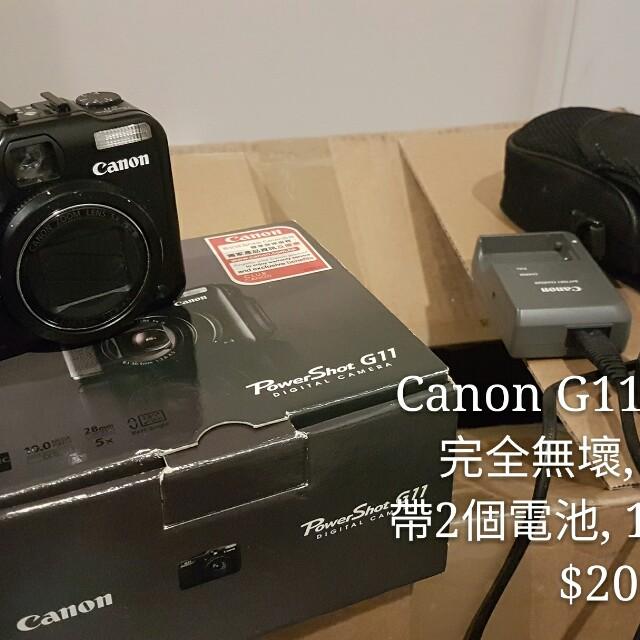 Canon G11 Camera