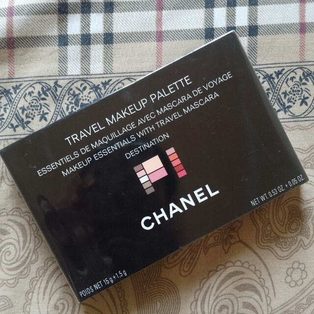 Chanel travel palette