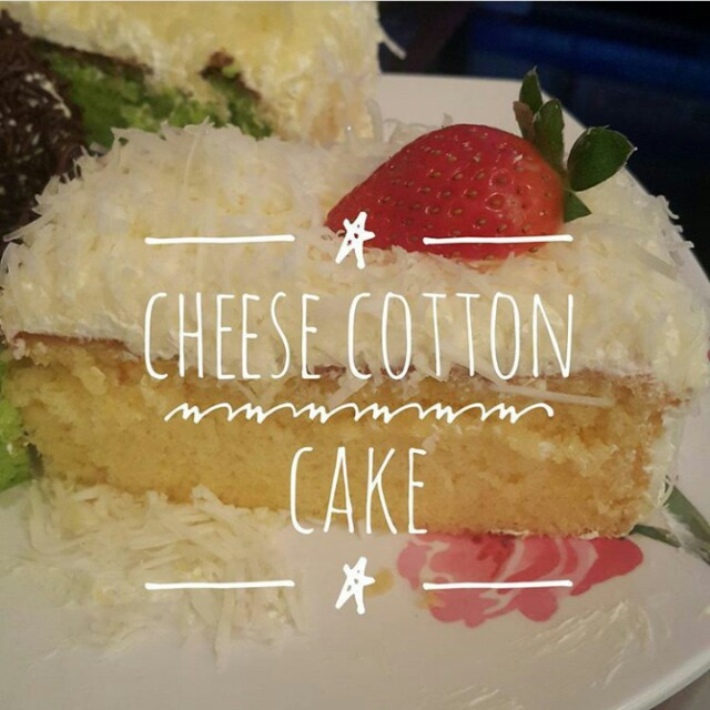 Cheese cotton cake