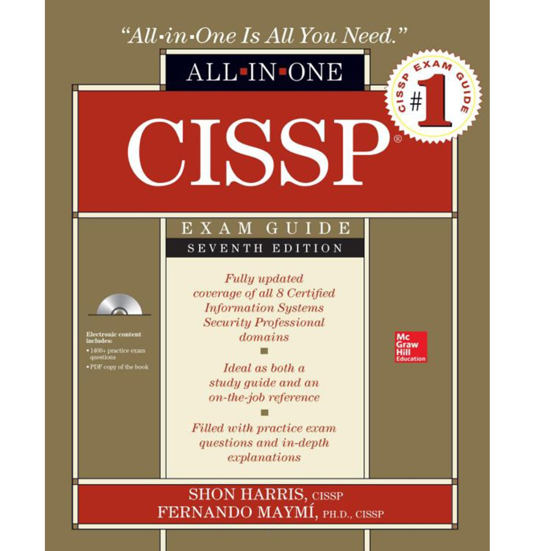 Cissp All In One Exam Guide 7th Edition Shon Harris Books