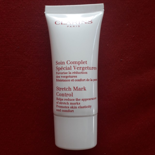 Clarins Stretch Mark Control 30ml(helps reduce the appearance of stretch marks .promotes skin elasticity and comfort)