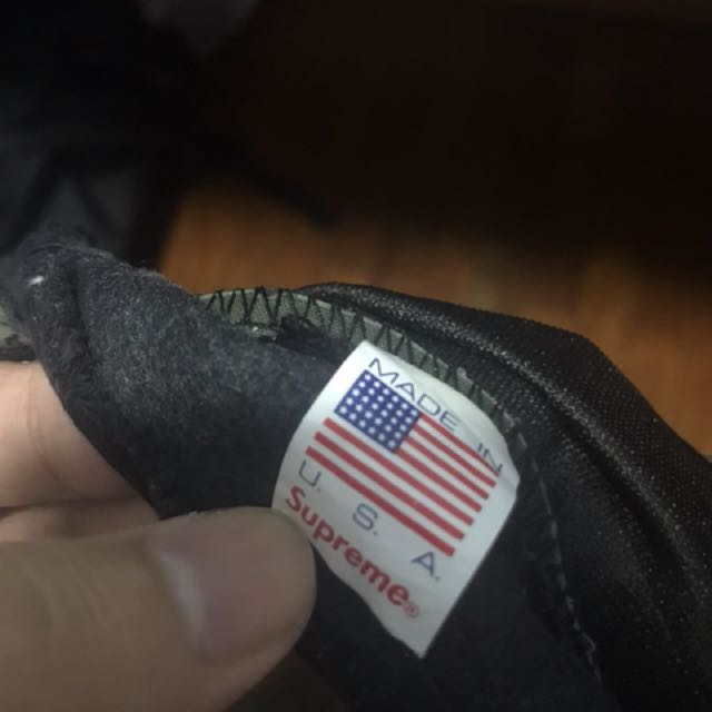 6471bd1ead1 CNY SALE! Authentic Supreme Cap Snapback Side Tape STEAL!