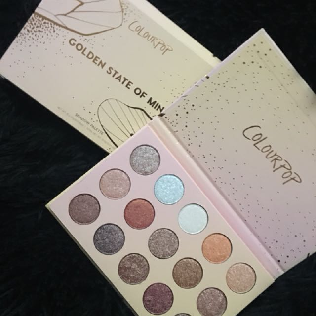 Colourpop Golden State of Mind Palette