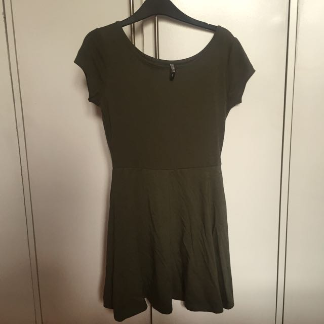 Cotton On Forest Green Skater Dress