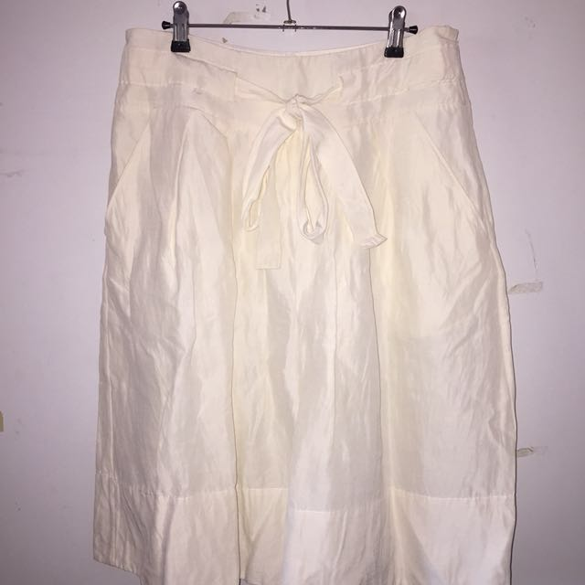 COUNTRY ROAD tie-up skirt