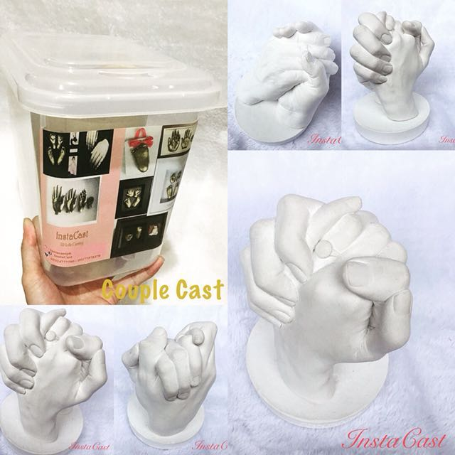 Couple Life Casting Kit/DIY/Life Casting on Carousell