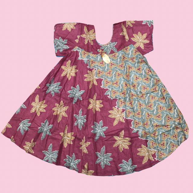 Daster Batik Asli Jogja (Pink II)