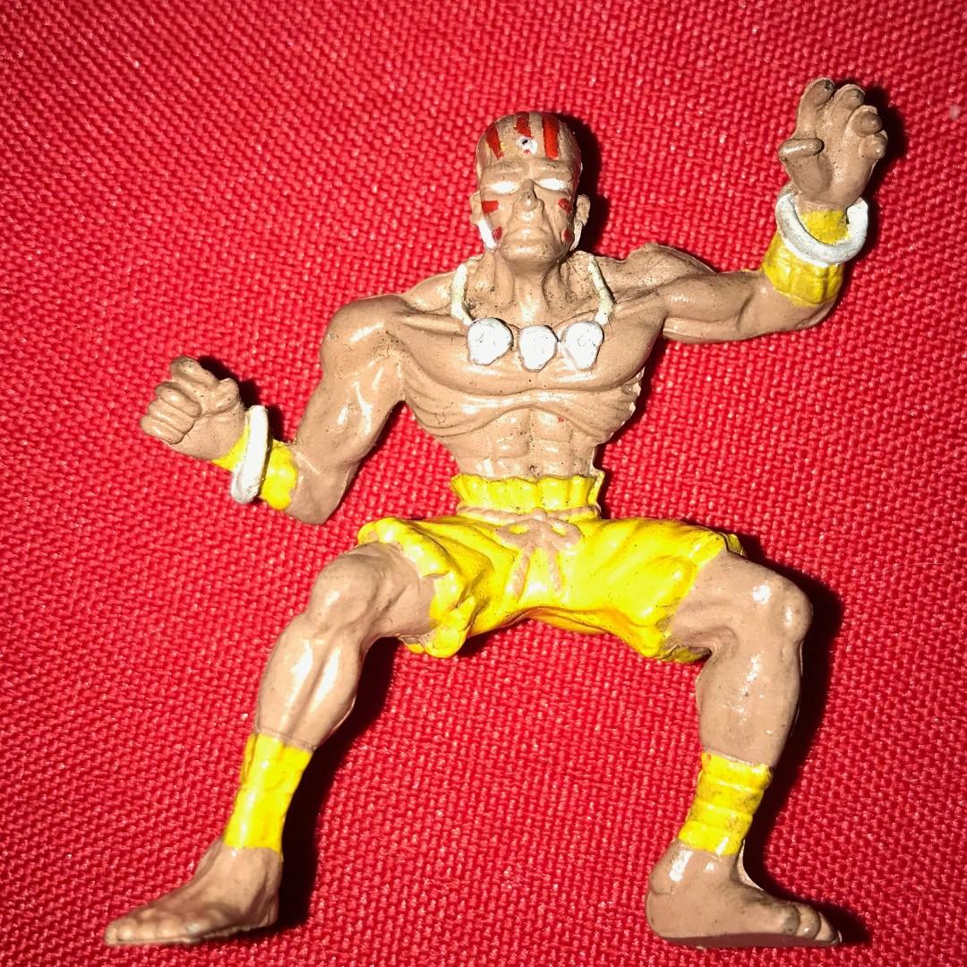 DHALSIM - Charafull World - Final Warriors [Street Fighter II] RARE 1980s Japan