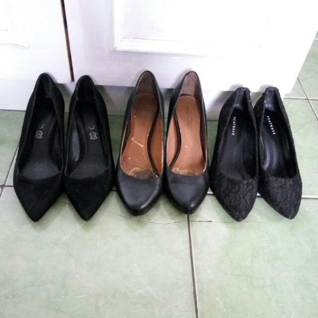 Dijual high heels aldo & heatwave original