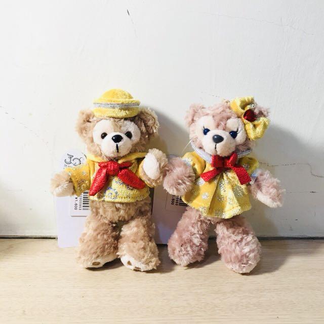 (全新絕版)Disney Duffy & shelliemay 日本迪士尼30週年 限定款 別針珠鍊吊飾