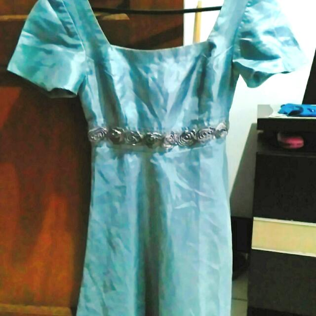 Dress Baby Blue Fit S