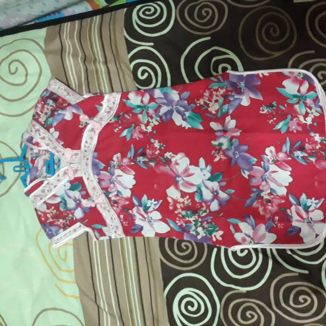 Dress Imlek Cheongsam Anak