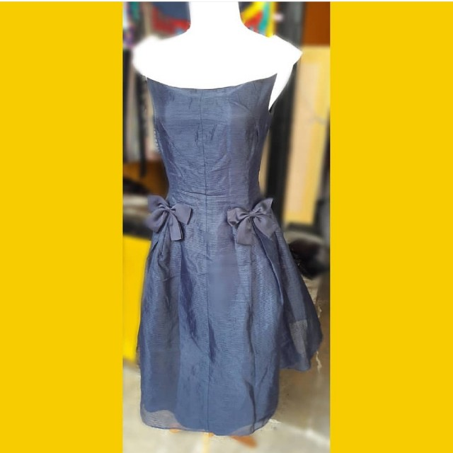 Dress Wanita Navy