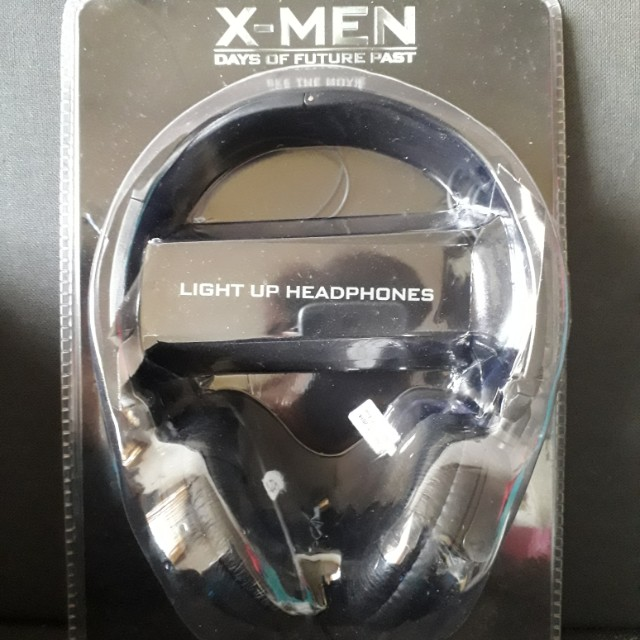 'X-Men: Days Of Future Past' Light Up Headphones