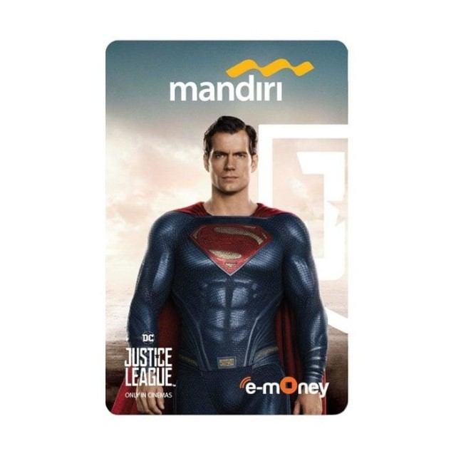 e-Money eMoney Mandiri Justice League Edition