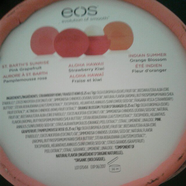 EOS Limited Edition Ray of Sunshine by Rachel Roy