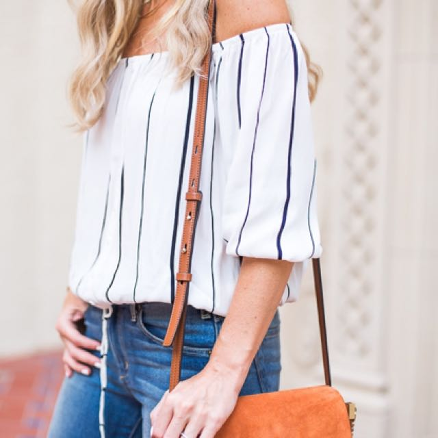 Faithfull the Brand Off the Shoulder Top