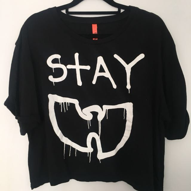 """Federation """"Stay Rad!"""" Crop top 