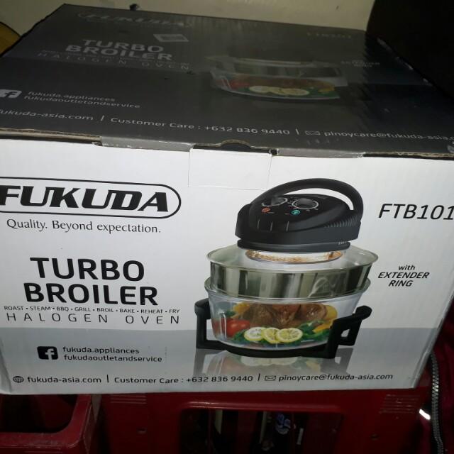 Fukuda Turbo Broiler, Kitchen & Appliances On Carousell