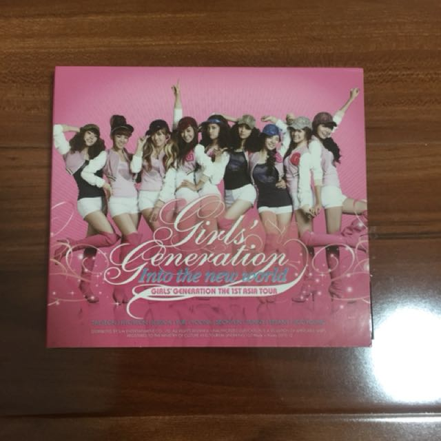 Girls' Generation - ITNE The 1st Asia Tour DVD